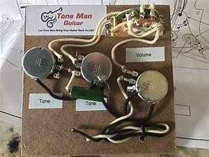 Stratocaster Eric Johnson Toneman Wiring Harness