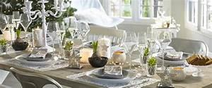 La Maison Du Blanc : id es d co pour votre table de f tes le blog d co de ~ Zukunftsfamilie.com Idées de Décoration