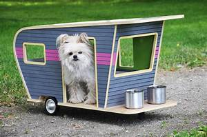 Cool dog house upgrade instantly endearing pet trailer for Cool dog kennel designs