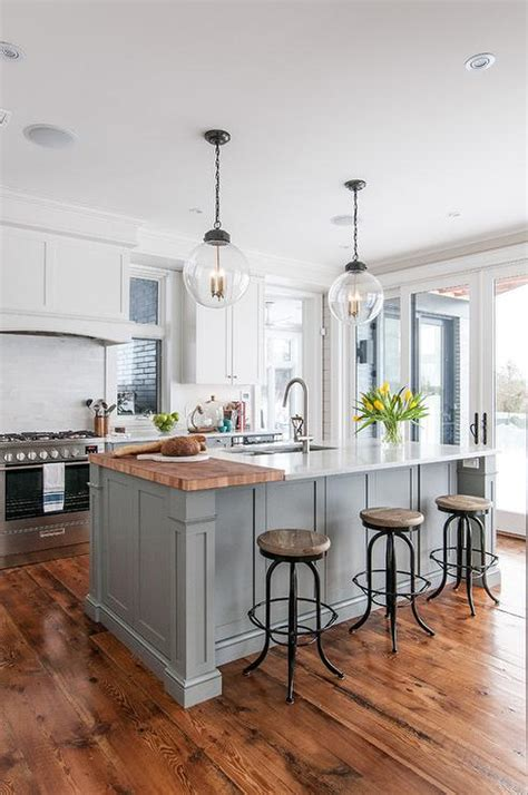marble kitchen islands center island with backless seagrass counter stools transitional kitchen