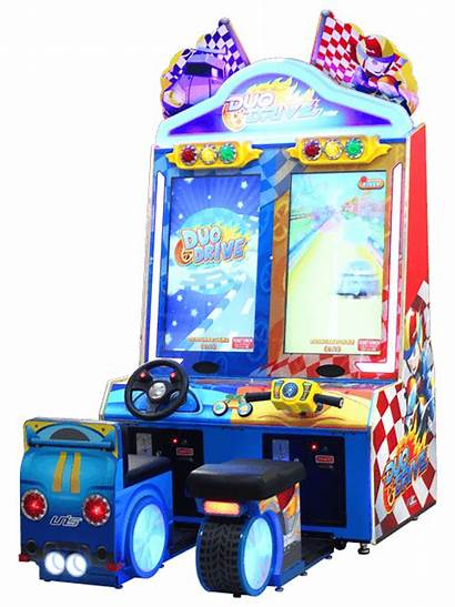 Arcade Duo Drive Games Unis Space Redemption