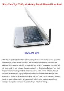 Sony Vaio Vgn T350p Workshop Repair Manual Do By Tomokoswain