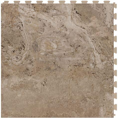 Shop Perfection Floor Tile Travertine 6 Piece 20 in x 20