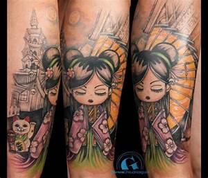 Tatouage Homme Japonais : tatouage asiatique graphicaderme ~ Melissatoandfro.com Idées de Décoration