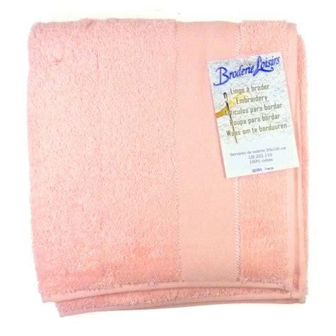 serviette de toilette 224 broder 50x100 cm