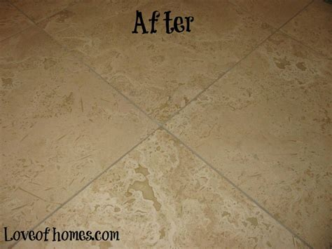 of homes cleaning sealing travertine tile tips