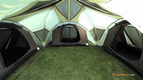 tente 4 personnes 2 chambres tienda de caña quechua t6 3 xl air instalación
