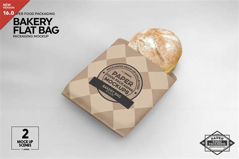 See more ideas about packaging mockup, mockup, packaging. Flat Bakery Bags Packaging Mockup By INC Design Studio ...