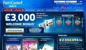 Play online Gambling for money party casino