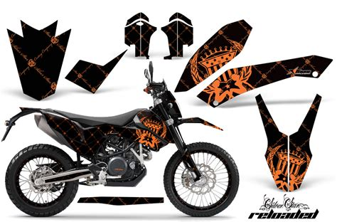 2008 2015 ktm 690 graphic kit 45 designs to choose from