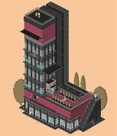 Letters Buildings Gifs Architectural Turn Wired Caption