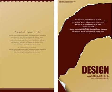 menu cards vectors