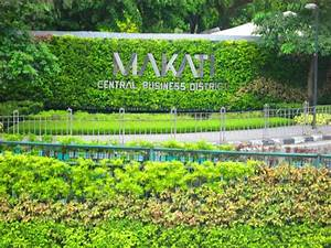 Makati Central Business District Welcome Mark - Makati ...