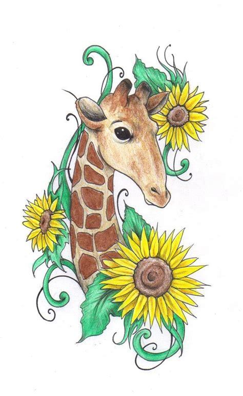 giraffe tattoo images  pinterest giraffe