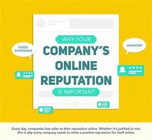 Why Your Company's Online Reputation Matters [Infographic ...