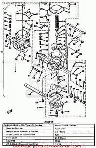 Yamaha Xs650 1978 Usa Carburetor Xs650 E006501