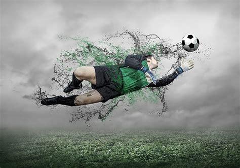 Wallpapers Sport Ball Footbal Goalkeeper (football) Jump
