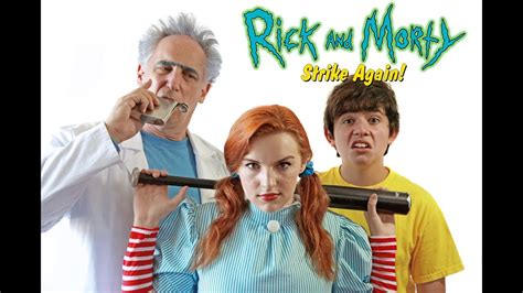 Live Action Rick And Morty Meme Pict