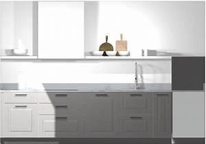 Ikea Arbeitsplatte Küche : ikea k che planen stylische designerk che mit kleinem budget ~ Michelbontemps.com Haus und Dekorationen
