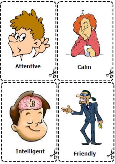 Personality Adjectives Flashcards