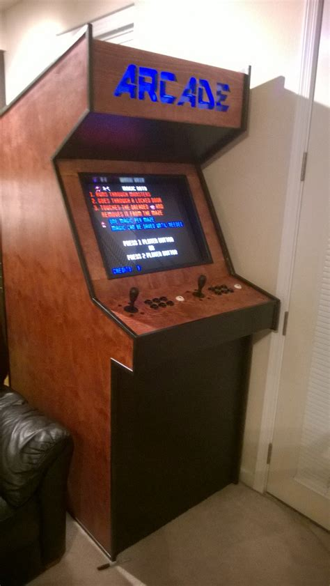 4 Player Arcade Cabinet Plans by Building A Basic Arcade Cabinet Make