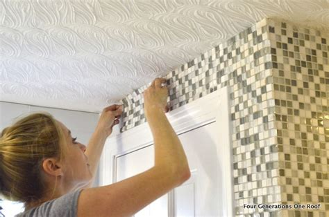 how to install mosaic tile tutorial four generations