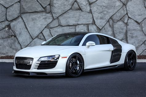 2008 Audi R8 V8 Heffner Twin Turbo Manual!
