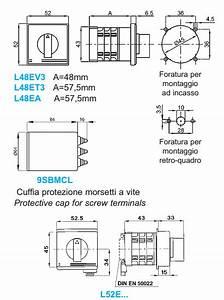 Current  U0026 Voltage Selector Switches L48e U2026 - L52e U2026