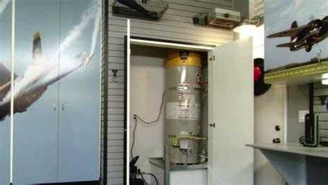 build  water heater enclosure video diy