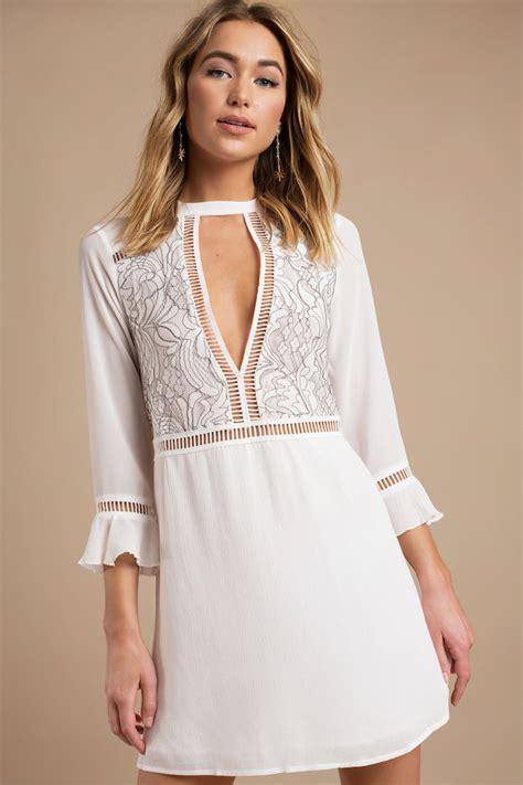 de la robe boheme blanche pour etre en top
