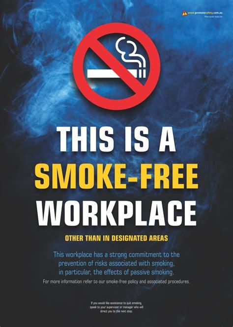 smoke  workplace  safety posters