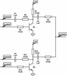 switches mosfets or bjts for using as switch for audio With amplifier with tone controls and soft switching