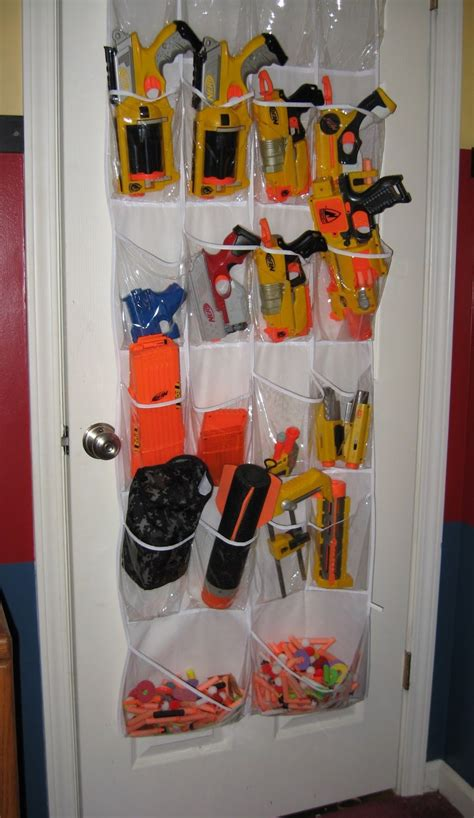 I am not responsible for any injuries/loss of people or property that may occur from following the ideas (and or) suggestions in these videos. 5 Cheap and Easy Nerf Storage Ideas - Ray Squad