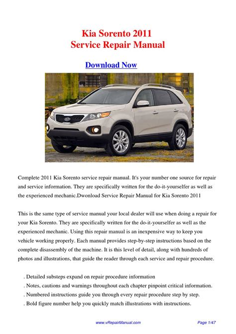 free auto repair manuals 2011 kia sorento security system download kia sorento 2011 service repair manual by huii jongg issuu