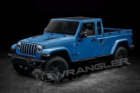 jeep wrangler truck will the jeep wrangler pickup look like this motor trend