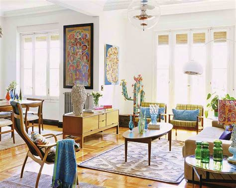 home interior decorating styles vintage inspired renovation in madrid house interior