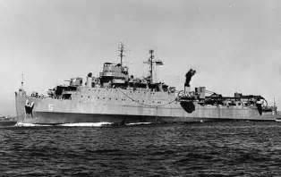 US Navy WW2 Landing Ships WWII