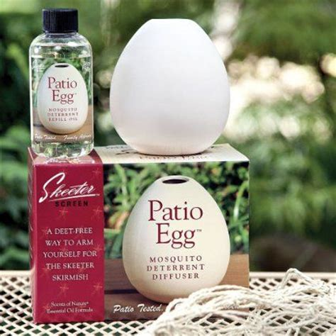 patio egg mosquito insect deterrent diffuser