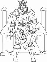 Viking Coloring Pages Vikings Print Printable Advent Wreath Coloriage Sword Colouring Norseman Colors Norse Boys Popular Comments Coloringhome Ages Middle sketch template
