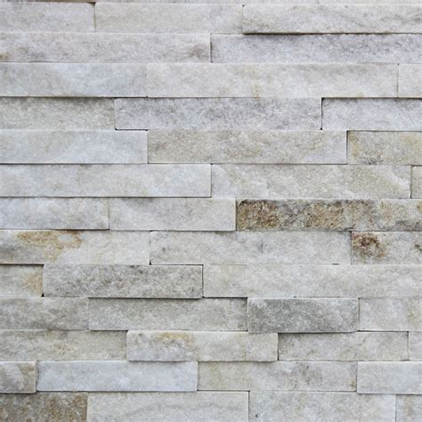 stacked tiles only 49 m2 miami sand white natural stackstone wall tile