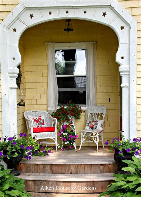Cottage Porch by Best 477 Cottage Porch Images On Home Decor