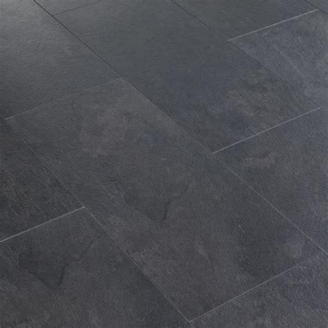 slate effect kitchen floor tiles harmonia black slate effect laminate flooring 2 05 m 178 pack 7973