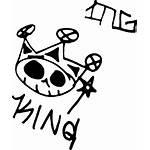 King Graffiti Tag Dead Tags Tagging Svg
