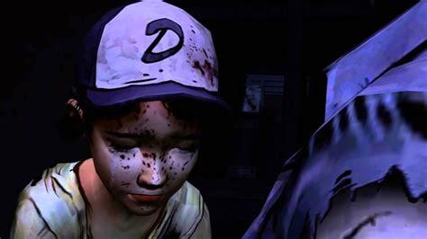 lee walking dead zombie death episode