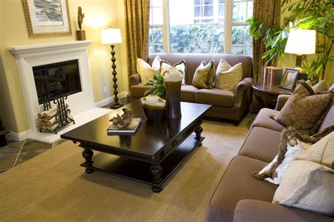Dark Brown Couch Decorating Ideas by 46 Swanky Living Room Design Ideas Make It Beautiful