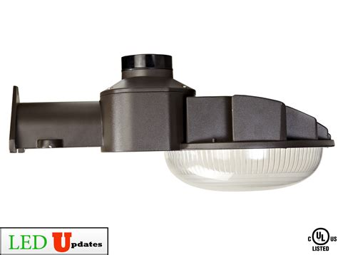 Ledupdates W Outdoor Dusk To Dawn Security Light Led