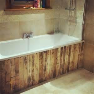 bathroom paneling ideas 25 best ideas about pallet bathroom on rustic