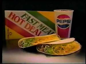 1987 Taco Bell commercial - YouTube