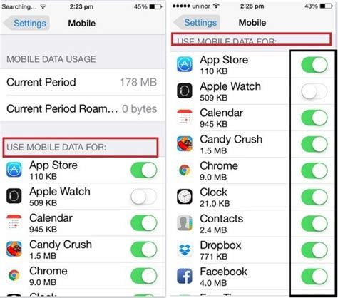 how to set data limit on iphone how to limit mobile data usage on iphone ios 11 or