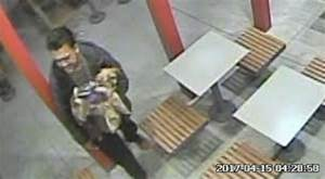 Wanted: Two men who abandoned severely injured dog on ...